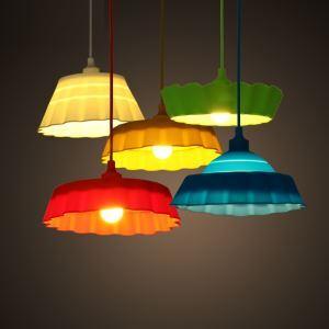 (Entrepôt UE) Style Nordique Chambre à coucher Restaurant plié en couleur gel de la silice petite lustre