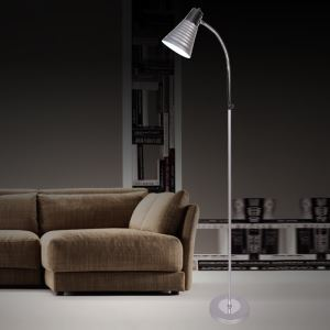 (Entrepôt UE) Moderne Simple Salon Salle d'étude créative lampadaire en quatre couleurs debout