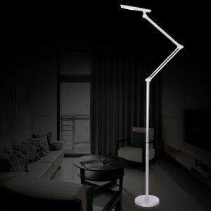 Moderne Simple Salon Salle d'étude créative lampadaire debout blanche