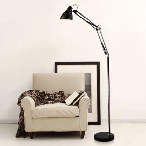 Moderne Simple Salon Salle d'étude créative lampadaire debout en deux couleurs