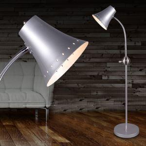 Moderne Simple Salon Salle d'étude créative lampadaire en quatre couleurs debout