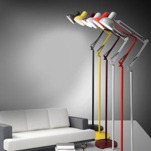 Moderne Simple Salon Salle d'étude créative lampadaire debout en six couleurs