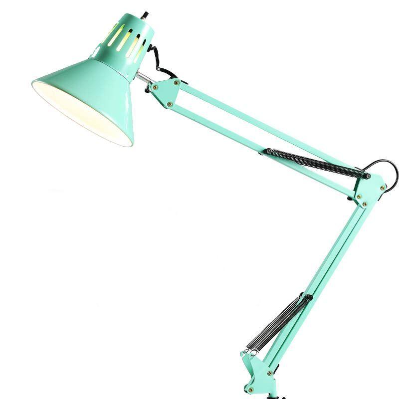 lampe de bureau rouge style moderne simple luminaire pour chambre d 39 tude. Black Bedroom Furniture Sets. Home Design Ideas