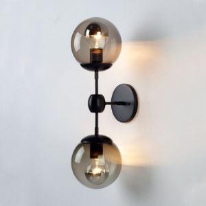 (Entrepôt UE)Applique murale design bulle deux lampes luminaire pour salon cuisine chambre