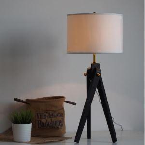 """Noir Métal Trépied Original et Elégant Concepteur Style Lampe de plafonds en 30.7""""Hauteur"""