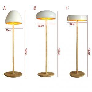 """Nouveauté Conception Champignon forme 55.1""""Hauteur Concepteur Lampe de Plafond"""