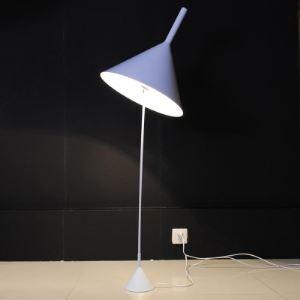 """Conception de style moderne Lampadaire 55.1""""Hauteur avec abat-jour en forme de cône"""