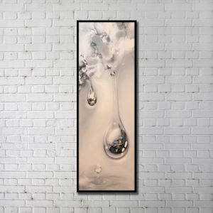 """Art contemporain Peinture numérique abstraite de pulvérisation+Peints à la main cadre noir Taille20""""X60"""""""
