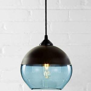 (Entrepôt UE)Lustre design suspension Industriel en forme de Bol Noir lampe suspendue luminaire pour salle chambre cuisine