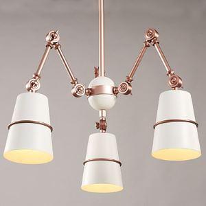(Entrepôt UE)Lustre design Suspension à 3 lampes lumianire pour salle chambre cuisine
