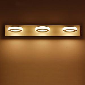 9W LED Salle de bain Lampe,Moderne/Contemporain LED Métal intégré