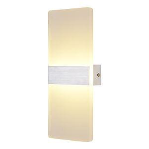 Applique LED en aluminum décorative H 29cm pour cage chambre à coucher