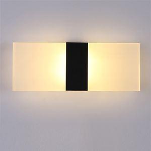 (Entrepôt UE) Applique murale intérieur moderne LED Lampe Carrée pour Chambre/Escalier/Sallon/Bureau/Porche/Passerelle