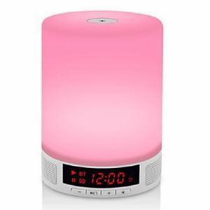 Coloré lampe stéréo Ambiance LED Lampe de nuit veilleuse (Propulsé par 3 piles AA)