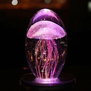 1PC Led veilleuse Lampe Cristal Balle Anniversaire Fille lampe Musique Box petite amie Créatif Cadeaux
