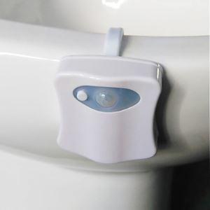 KWB 1 W RGB Batterie Imperméable Capteur Lampe de nuit veilleuse 5V ABS