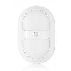 1 W Blanc chaud / Blanc froid Batterie Capteur Lampe de nuit veilleuse 5V Plastique