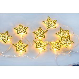 (Entrepôt UE) 13.5M 10 LED Étoile Chaîne de lampe déco