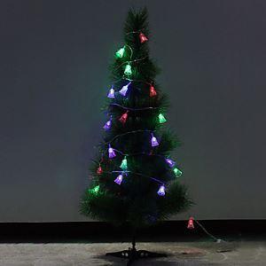 (Entrepôt UE) Noël 4.5m cloche Décoratif Lampe(220v Lampes Nombre:28)