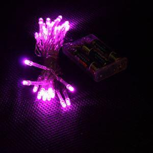 (Entrepôt UE) 3M 30-LED Rose Lampe 2-Mode LED Chaîne Fée Lampe pour Noël (3xAA)