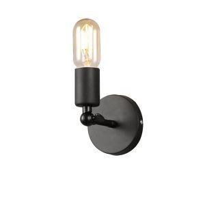 (Entrepôt UE) Style américain rustique fer rétro applique murale une lampe