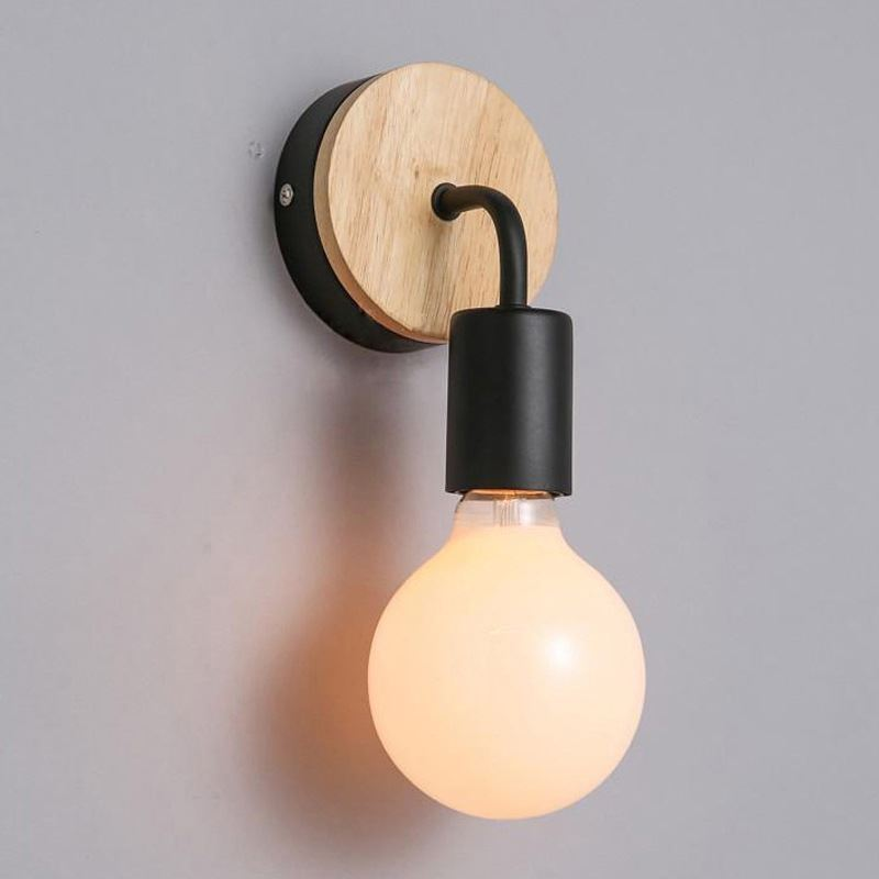 Lampe applique murale style nordique moderne simple for Applique murale wc