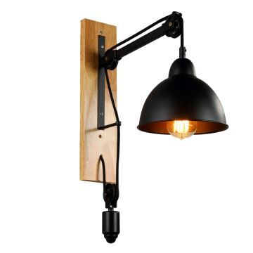 applique murale h53cm luminaire pour chambre couloir style am ricains r tro industriel cr atif. Black Bedroom Furniture Sets. Home Design Ideas
