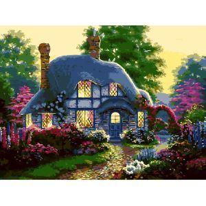 Moderne simple DIY peinture à l'huile peinte à la main maison d'art peinture décorative 40*50