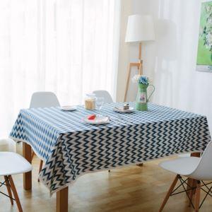 (Entrepôt UE) Europe nordique Frais Pop Art Moderne canevas épais coton linge dentelle nappe de table nappe linge de table