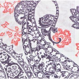 (Entrepôt UE) Simple Elégante haut de gamme motif Paisley impression Tissus en coton textiles