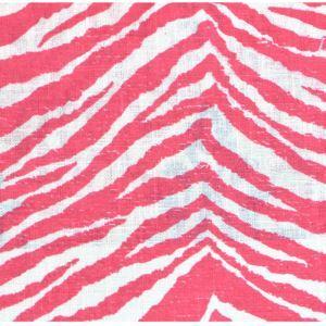 (Entrepôt UE) Simple Elégante haut de gamme zèbre impression Tissus en coton textiles
