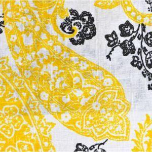 (Entrepôt UE) De haute qualité des tissus d'impression de textiles de coton jaune