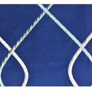 (Entrepôt UE) Haut de gamme de tissus brodé de textiles de coton