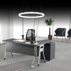 Suspension LED SMD 15W D40cm en métal luminaire pour salle à manger