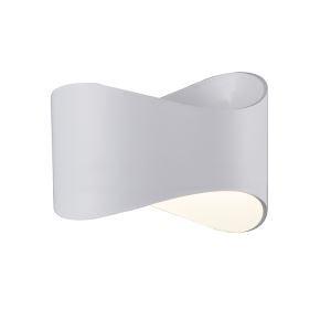 (Entrepôt UE) Moderne Simple Métal + Acrylique processus de cuisson LED--1*9W applique murale lumière neutre 4000K