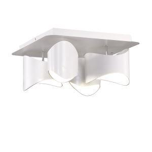 (Entrepôt UE) Moderne Simple Métal + Acrylique processus de cuisson LED--4*9W Lustre lumière neutre 4000K