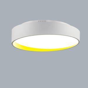 (Entrepôt UE) Moderne Simple métal+plastique+acrylique processus de cuisson LED--1*32W Lustre deux couleurs de lumière(blanc+Blanc chaud)Sans télécommande
