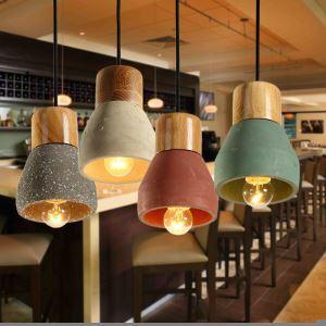 (Entrepôt UE) Suspension lustre style américain campagne industriel rétro rustique en fer lampe de couloir cuisine