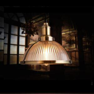 (Entrepôt UE) Suspension cannelle style américain campagne industriel rétro rustique en fer luminaire de cuisine