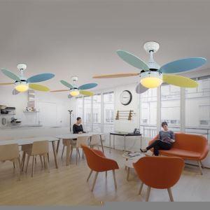 Style américain campagne industriel rétro rustique Matériel Fer magnfique coloré Ventilateur suspension