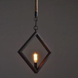 Style américain campagne industriel rétro rustique Matériel Fer simple diamant suspension