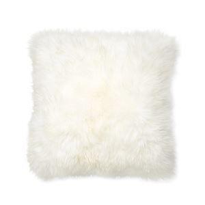 (Entrepôt UE) Imitation fourrure de renard de luxe garniture salle du conseil coussins d'oreiller à la maison voiture