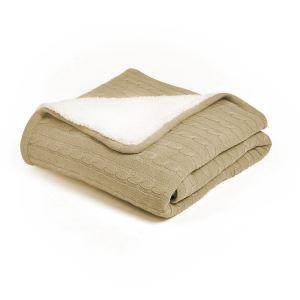 (Entrepôt UE) Plaid doux chaud pour canapé sofa chambre 150*200cm