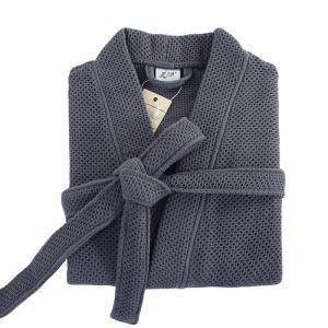 (Entrepôt UE) Mme automne gaze peignoirs en coton mâle pyjama chemise de natation de l'eau à domicile
