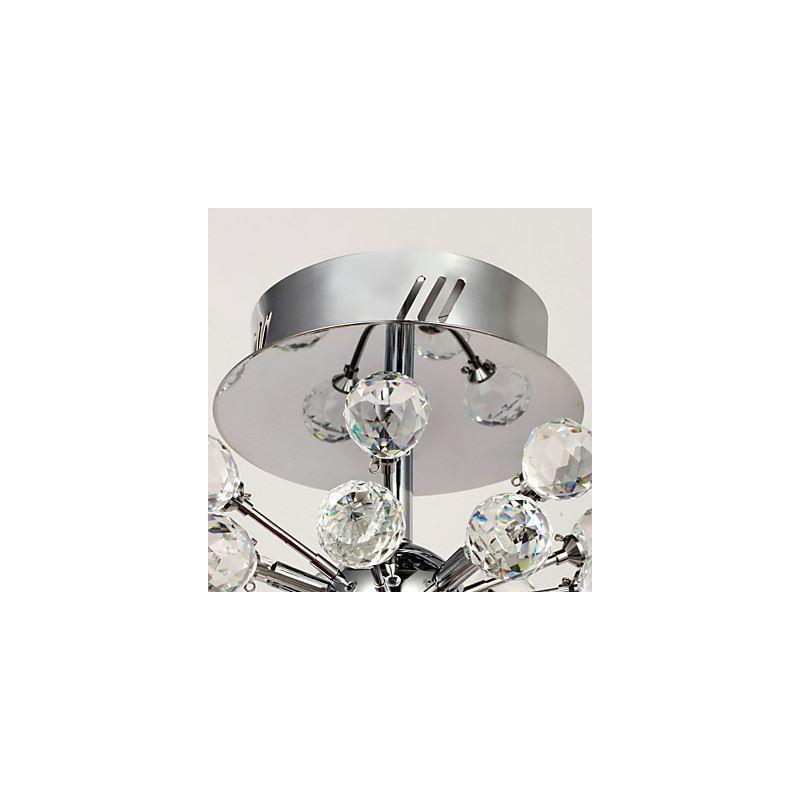 lustre cristal 6 lumi res gouttes lampe de plafond pour chambre d 39 enfant b b. Black Bedroom Furniture Sets. Home Design Ideas