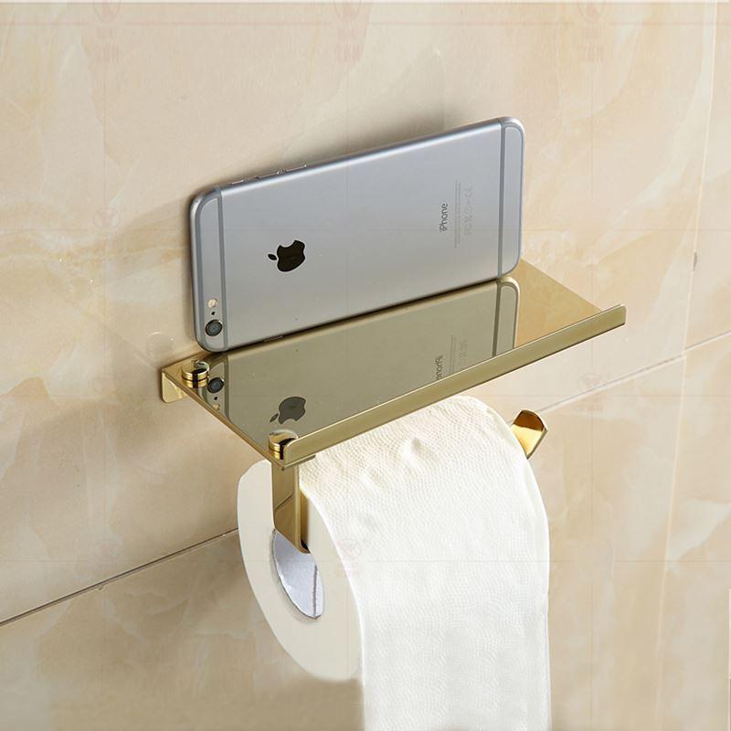 Entrep t ue porte papier porte t l phone deux mod les - Accessoire salle de bain pas cher ...