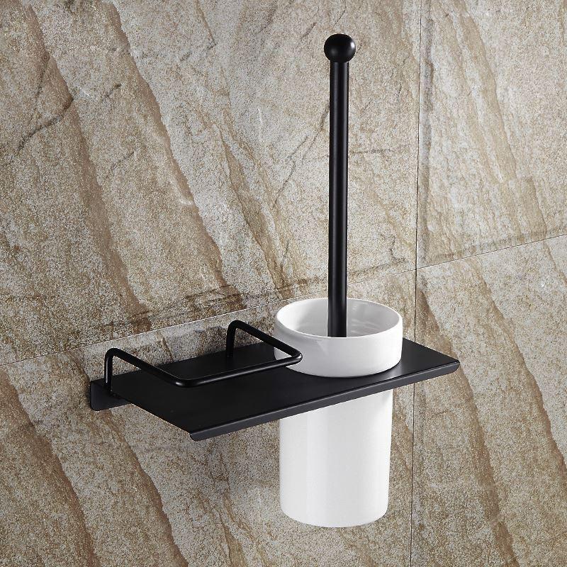 Bain porte brosse toilette entrep t ue style for Accessoire salle de bain retro