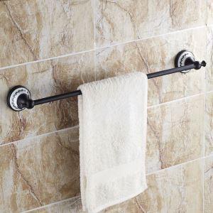 Style européen Accessoires de salle de bain en cuivre rétro porte-serviettes unique