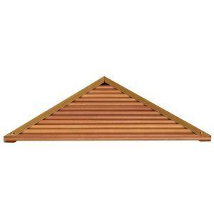 (Entrepôt UE) Style européen simple Accessoires de salle de bain en bois Etagères de trépied