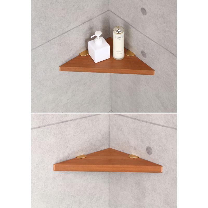 Etag re en bois pour salle de bain deux mod les de tr pied for Etagere bois pour salle de bain